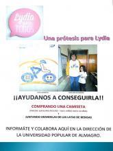 Cartel elaborado por la UPE de Almagro