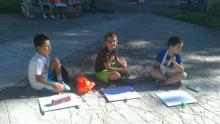 David, Luis y Miguel